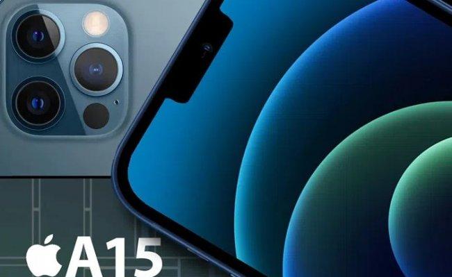 iphone 13 işlemci a15 bionic