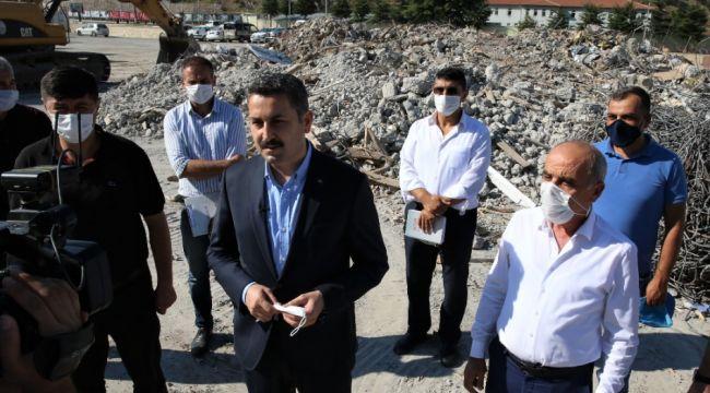Başkan Eroğlu söz vermişti, yıkım başladı