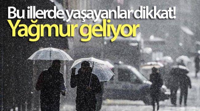 Bu illerde yaşayanlar dikkat! Yağmur geliyor - 21 Eylül 2020 yurtta hava durumu