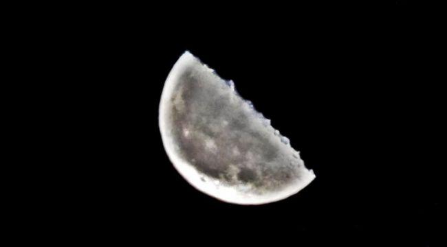 'Parçalı Ay' böyle görüntülendi