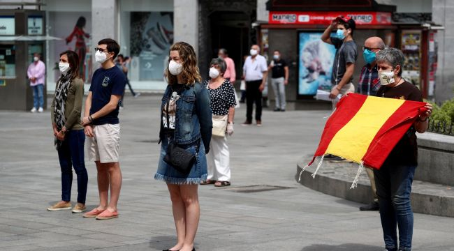 İspanya'da OHAL ilan edildi