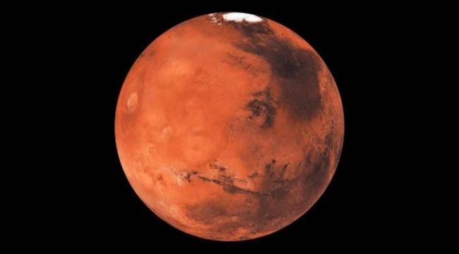 Çin Mars'a indi