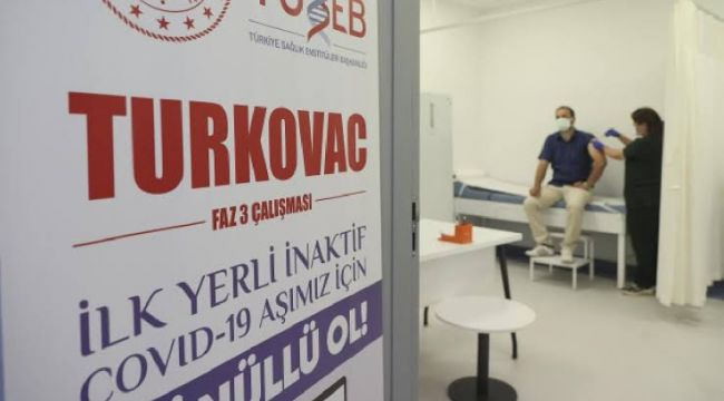 Turkovac'ın ilk sonuçları belli oldu