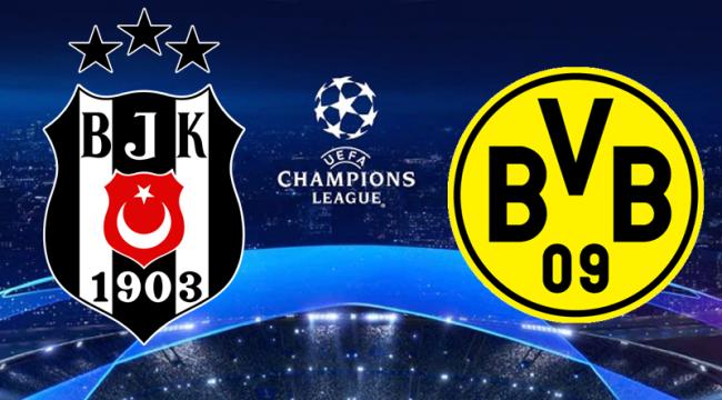 Beşiktaş – Dortmund maçı ne zaman, hangi kanalda? Şifresiz mi?